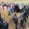 Strigătele protestatarilor bruscaţi de jandarmi la Pungeşti, auzite până la Iaşi
