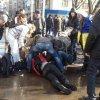 VIDEO: Atac cu bomba in timpul unui mars în estul Ucrainei. 3 morti si peste 10 raniti