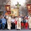 Procesiune de Florii pe străzile din Iaşi. Sute de catolici sunt aşteptaţi