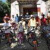 Pelerinaj pe bicicletă la Biserica Nașterea Sfântului Ioan Botezătorul, prilejuit de Sărbătoarea Hramului