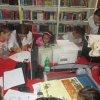 IMAGINI: Copiii din gara CUG au ascultat astăzi poveşti la Biblioteca Judeţeană