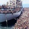 IMAGINILE DISPERĂRII. Aşa pleacă refugiaţii din nordul Africii spre Europa