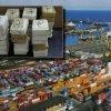 DOUĂ TONE DE COCAINĂ, într-un container din portul Constanța