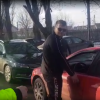 VIDEO Dealer de droguri și fără permis prins de polițiști la accidentul mortal de la Scânteia