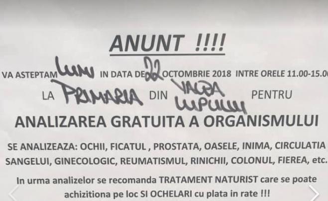 """O primărie din Iași le """"analizează"""" cetățenilor sănătatea prin biorezonanță"""