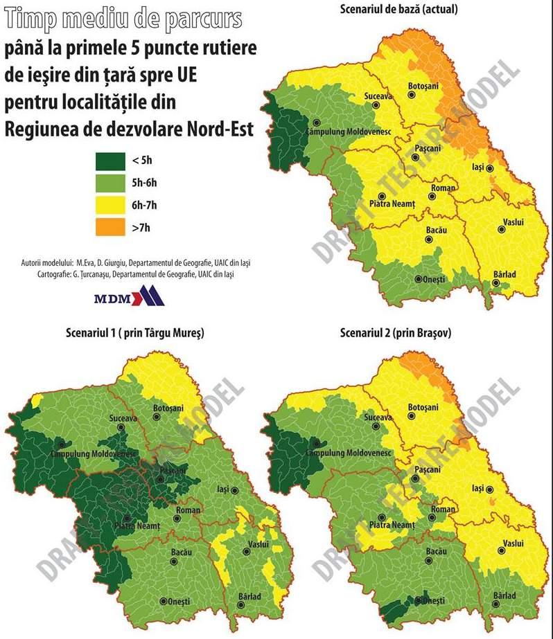 Harta Autostrada Bacău Brasov Mult Mai Puţin Eficientă Decat